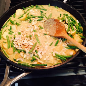 Sri Lankan Cashew Nut, Green Bean & Potato Curry
