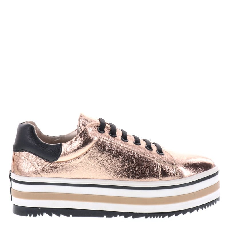 Flatforms Rose gold