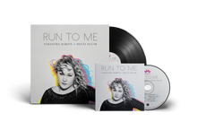PRE-ORDER LIMITED EDITION Samantha Martin & Delta Sugar - Run To Me VINYL + CD +Download Card