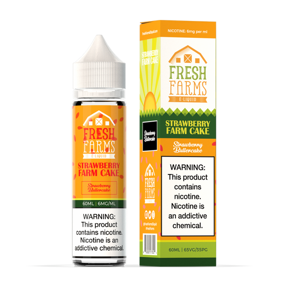 Fresh Farms - Strawberry Farm Cake 60ML