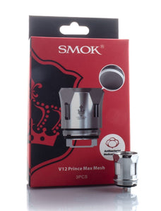 SMOK TFV12 Prince Replacement Coil V12 Prince Max Mesh 0.17ohm - 1pc