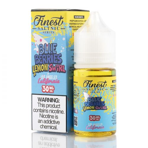 The Finest SaltNic - Blueberries Lemon Swirl 30ML