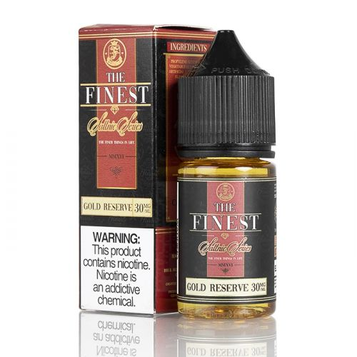The Finest SaltNic - Golden Reserve / Banana Honey 30ML