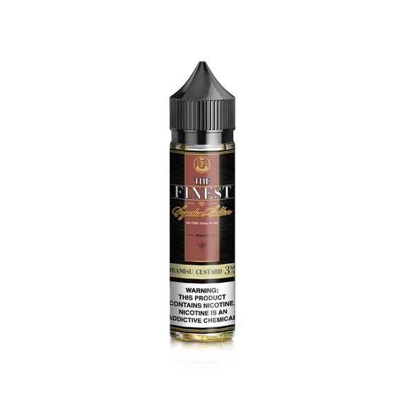 The Finest Signature Edition - Tiramisu Custard 60ML