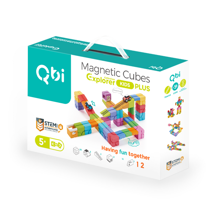 Qbi Explorer- Kids' PLUS Pack
