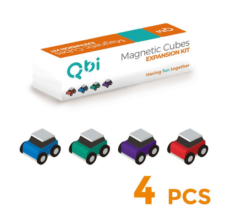 Qbi Expansion- Classic Toy Cars 4pcs