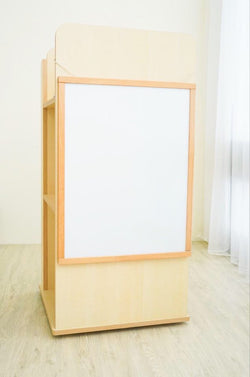 雙面磁性白板 Double-sided whiteboard