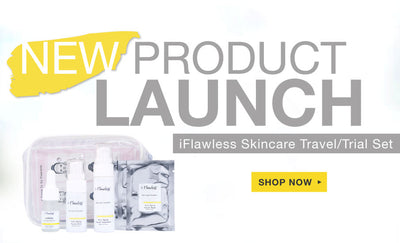 NEW PRODUCT LAUNCH!! IFLAWLESS SKINCARE TRAVEL/TRIAL SET