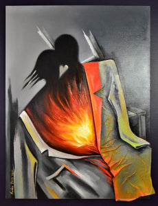 Burning Hearts by Nadia Yass (available@DaraGlobalArts)