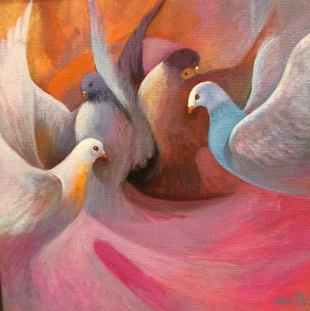 Doves and Peace Series #2