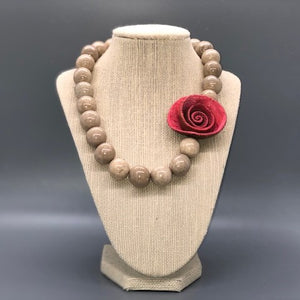 One Rose Necklace