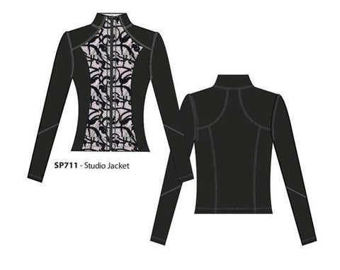 STUDIO JACKET - SCROLL
