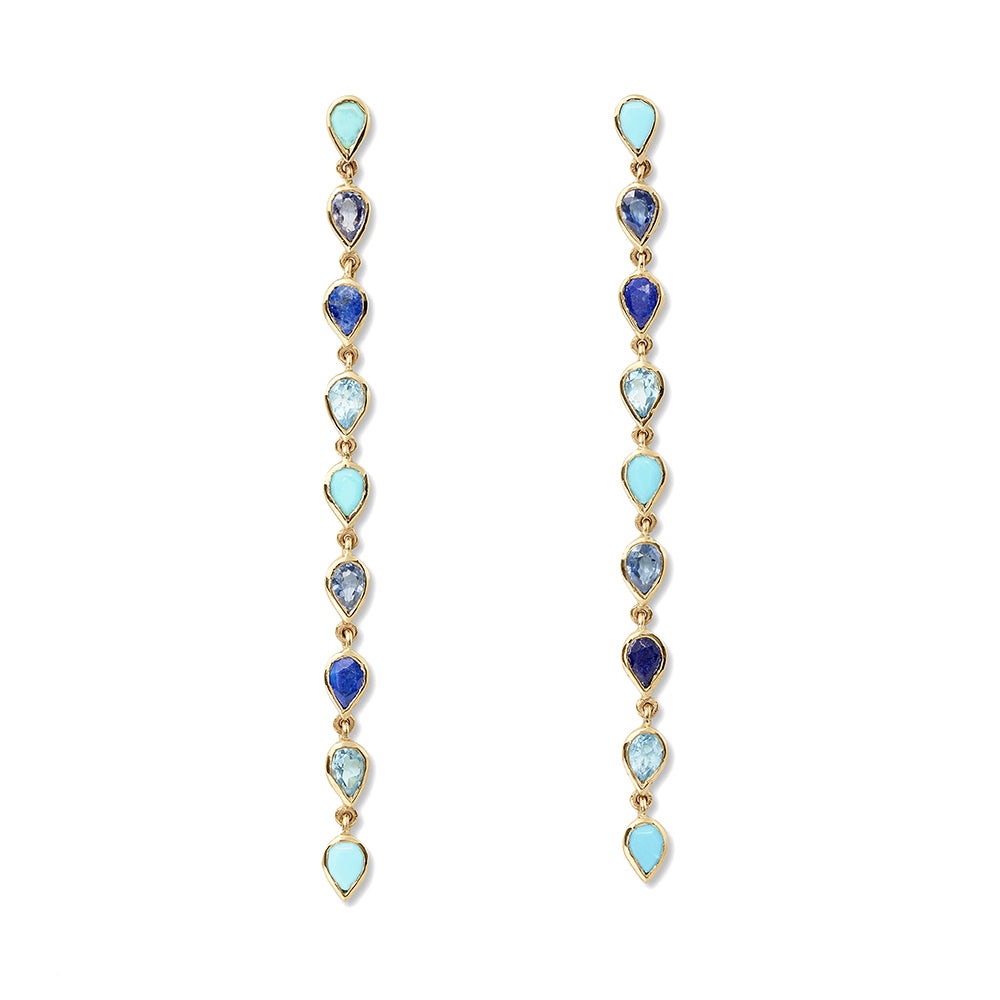 blue gemstone pear drops