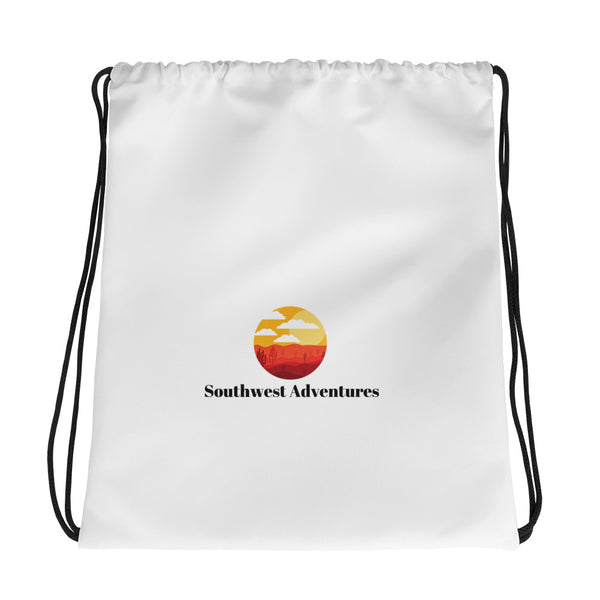 Southwest Adventures USA Drawstring bag