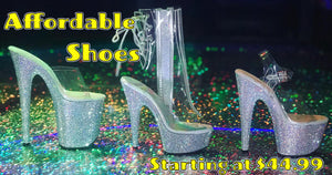 Affordable Platform Stripper Heels - Golddiggers Boutique