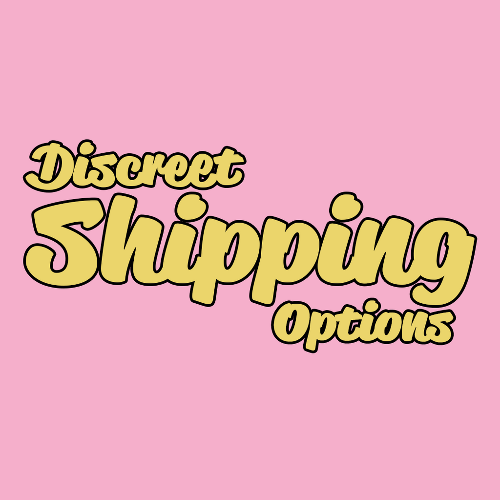 Discreet Shipping Options - Golddiggers Boutique