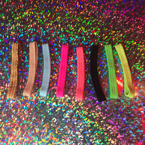 Plain Colored Garters | 22 Colors - Golddiggers Boutique