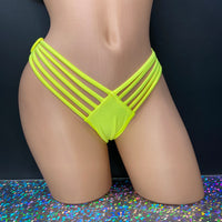 Multi Strap Thong | Various Colors - Golddiggers Boutique
