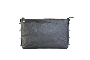 SMALL MATTE BLACK CROSSBODY BAG