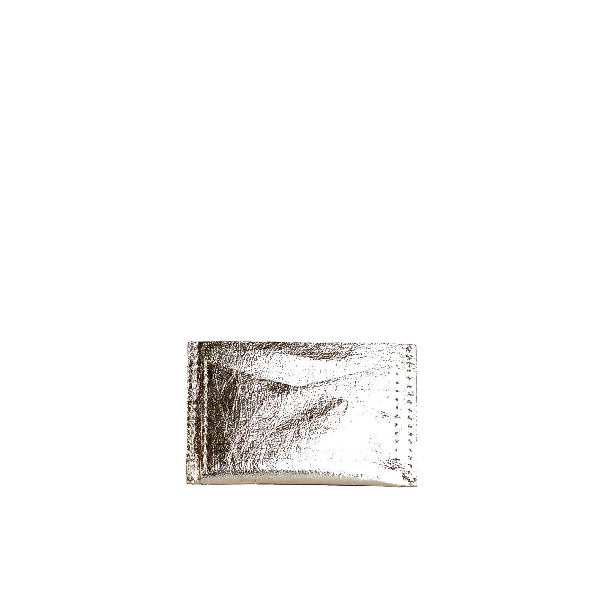 SHINY PLATINUM CARD HOLDER