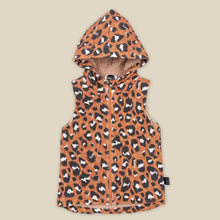 Load image into Gallery viewer, KaPow Kids Wilds Chocolate Hooded Vest