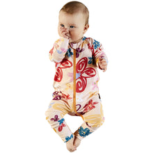 Load image into Gallery viewer, Kip & Co Pansy Organic LS Romper