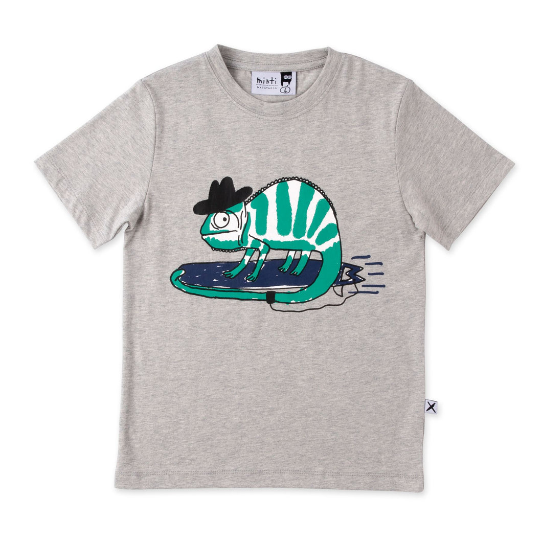 Minti Carving Chameleon Tee