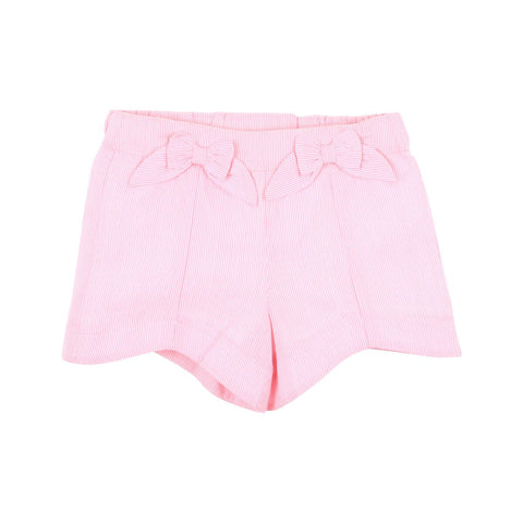 Bebe Flora Strip Shorts