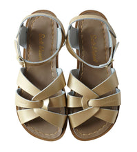 Load image into Gallery viewer, Saltwater Sandals Original Adults Gold