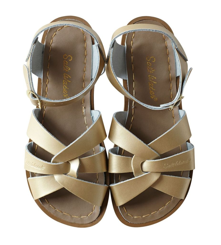 Saltwater Sandals Original Adults Gold