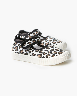 Walnut Melbourne MJ Canvas Leopard
