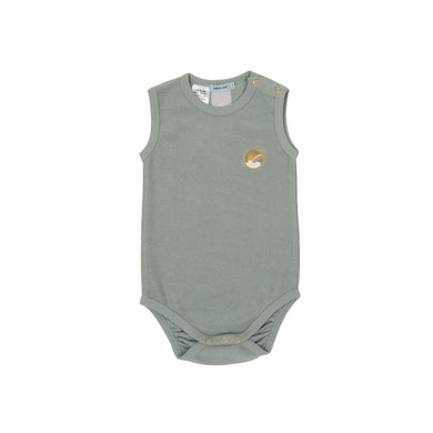 Goldie + Ace Dash Onesie Terry Towelling Sea