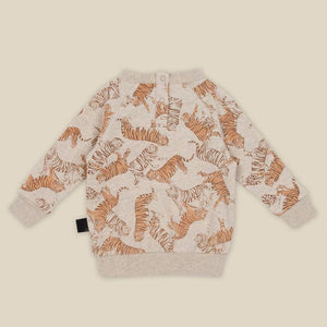 KaPow Toasted Tigers Sweater