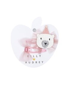 Billy Loves Audrey Well dressed Bear Hair Clip