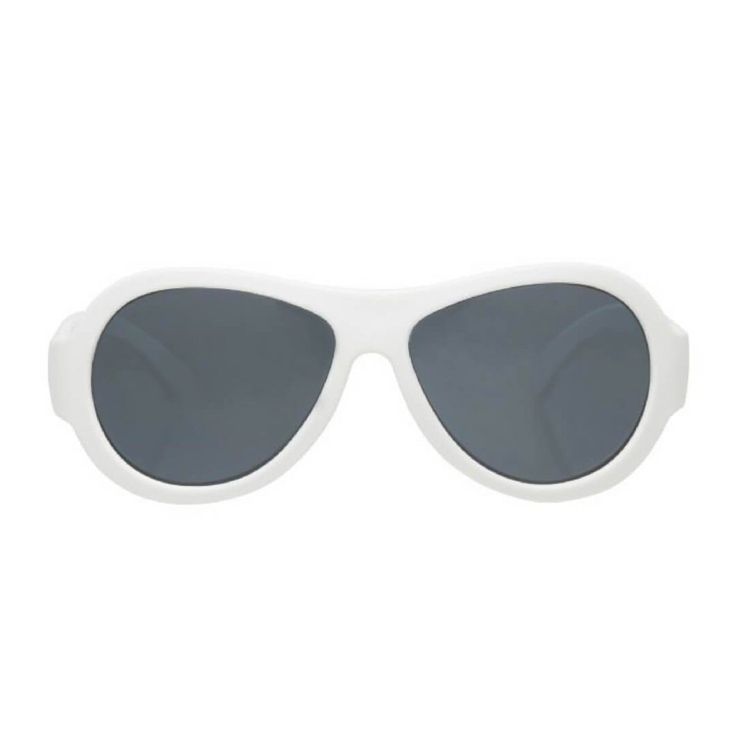 Babiators Original Aviator Wicked White
