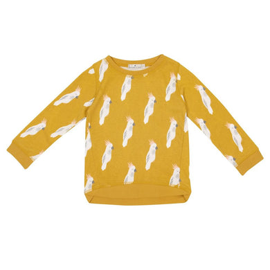 Goldie + Ace Cockatoo Party Sweater
