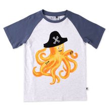 Load image into Gallery viewer, Minti Captain Octopus Tee
