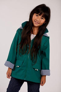 French Soda Raincoat Meadow Green