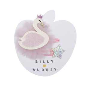Billy Loves Audrey Swan Hair Clip