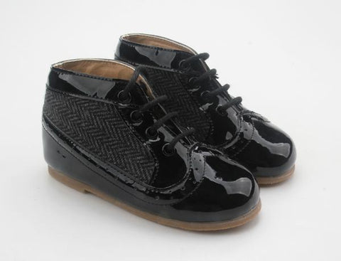Anchor & Fox Windsor Herringbone Boot Ebony