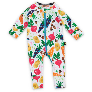 Kip & Co Veggie Patch Organic LS Romper