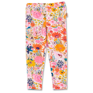 Field of Dreams Leggings - Pinky