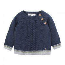 Load image into Gallery viewer, Bebe Callum Cable Knit Jumper