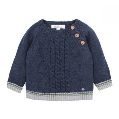Bebe Callum Cable Knit Jumper