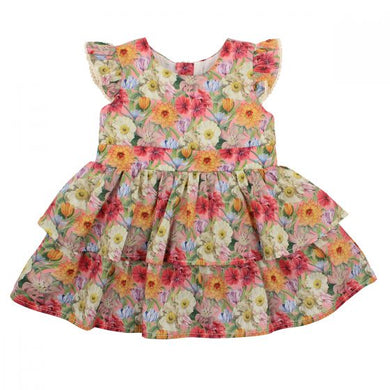 Bebe Liberty Tiered Dress