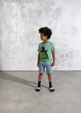 Load image into Gallery viewer, Minti Danger Denim Short