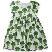 Load image into Gallery viewer, Sporty Broccoli Dress - Mint