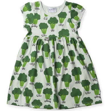 Sporty Broccoli Dress - Mint