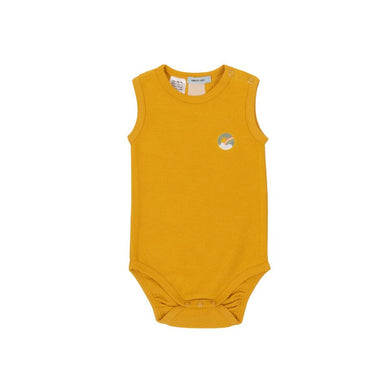 Goldie + Ace Dash Onesie Terry Towelling Marigold
