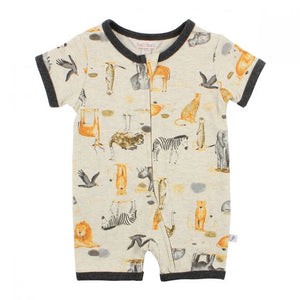 Fox & Finch Rahh Print Shortie Romper